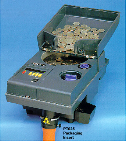 Scan Coin SC 303 Coin packager